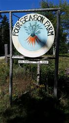 Four Season Farm sign