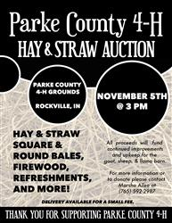 Hay and Straw Auction