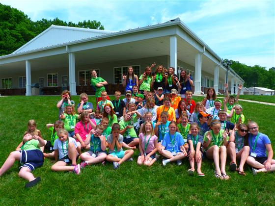 2016 Franklin County 4-H Campers and Counselors