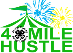 4-H 4 Mile Hustle logo