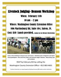 Livestock Judging Workshop