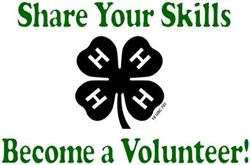Become a 4-H Volunteer Today!
