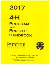 2017 Putnam 4-H Program and Project Handbook