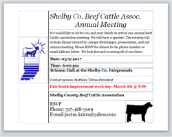 Shelby County Beef Cattle Association