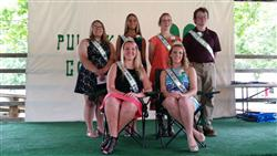 2016 4-H Royalty & Court