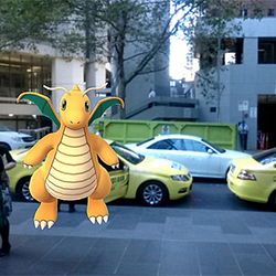 Dragonite in Melbourne, Australia, www.flickr.com