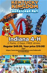Discount Tickets for Indiana 4-H Members