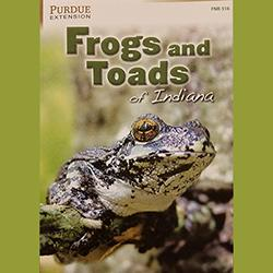 Frogs and Toads of Indiana, FNR-516, book