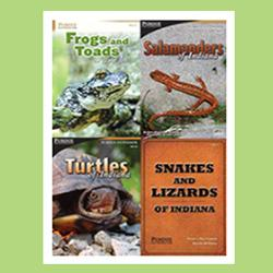 Indiana Amphibian and Reptile ID Package, 4-books