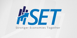Stronger Economics Together logo