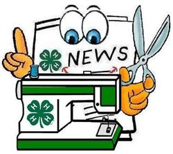 4-H Clover with News logo