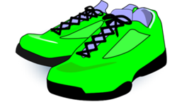 Green Tennis Shoes