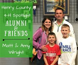 Matt & Amy Wright with their two sons
