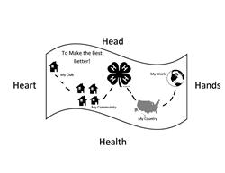 Map of 4-H