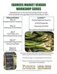 Market Vendor Workshop