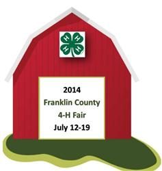 2014 Franklin County 4-H Fair Logo