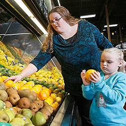 A Purdue Extension program taught Tara Conn and her family to stretch their food budget while choosi