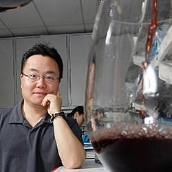 Kee-Hong Kim found that piceatannol, a compound found in red wine and several fruits, blocks immatur