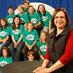 Purdue zipTrips deliver science-based electronic field trips directly to students in Cathy Deford's
