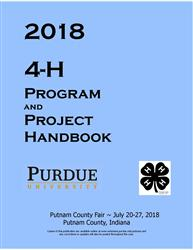 2018 Putnam 4-H Program and Project Handbook