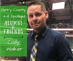 4-H Alumni Cody Walker