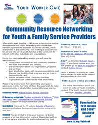 Youth Worker Cafe