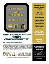 iPad Essential Workshops for Adults