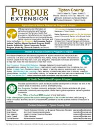 Tipton County Extension Info
