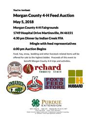 Feed Auction Flyer