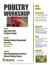 Poultry Workshop Flyer