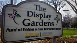 The Display Gardens sign