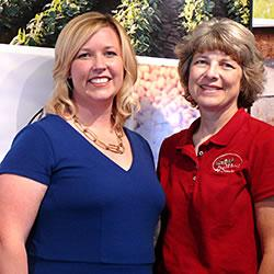 Women in Agriculture honorees for 2014 are, from left, Elisha Modisett Kemp of Marion County, who re