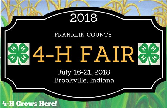 2018 Franklin County 4-H Fair Results - Purdue Extension