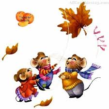 fall chipmunks