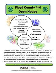 Floyd County 4-H Open House