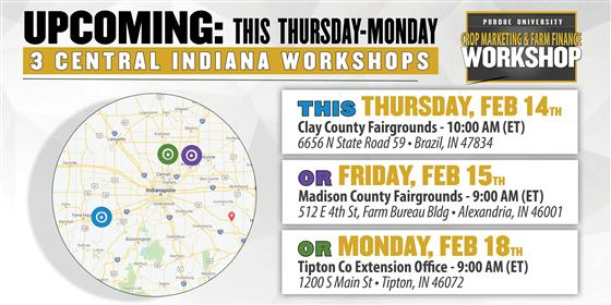 Crop Marketing & Farm Finance Workshops
