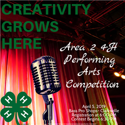 Area 2 4-H Performing Arts Contest