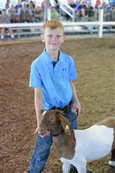 young 4-H'er