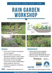Rain Garden Workshop