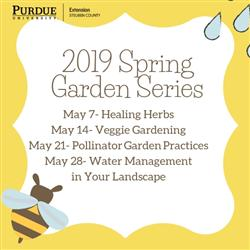 Spring Garden Series, Tuesday evenings in May 2019