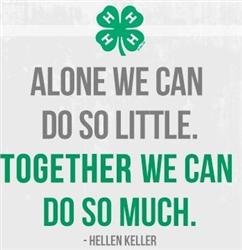 The most important part of 4-H besides it's members. The Volunteers!
