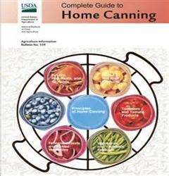 USDA Home Canning Guide