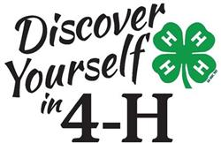 4-H Workshop Information
