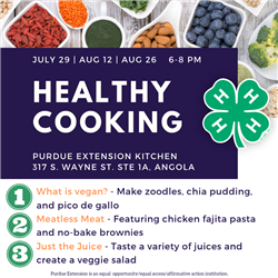Healthy Cooking Promo