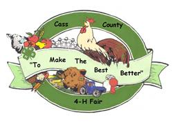Cass County 4-H Fair logo