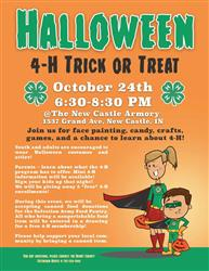 Henry County 4-H Trick or Treat Night!