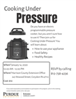 cooking under pressure january 14