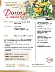 Dining with Diabetes - Howard Park