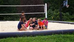 Counselor with Campers
