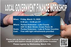 Local Government Finance Workshop
